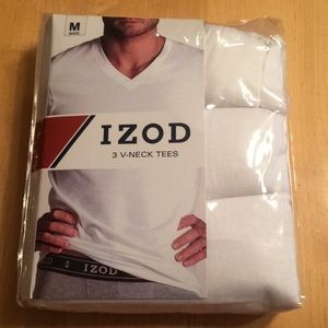 NWT Izod V-Neck T Shirts 3 pack